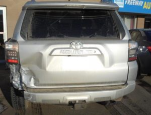 dented-bumper-toyota-four-runner